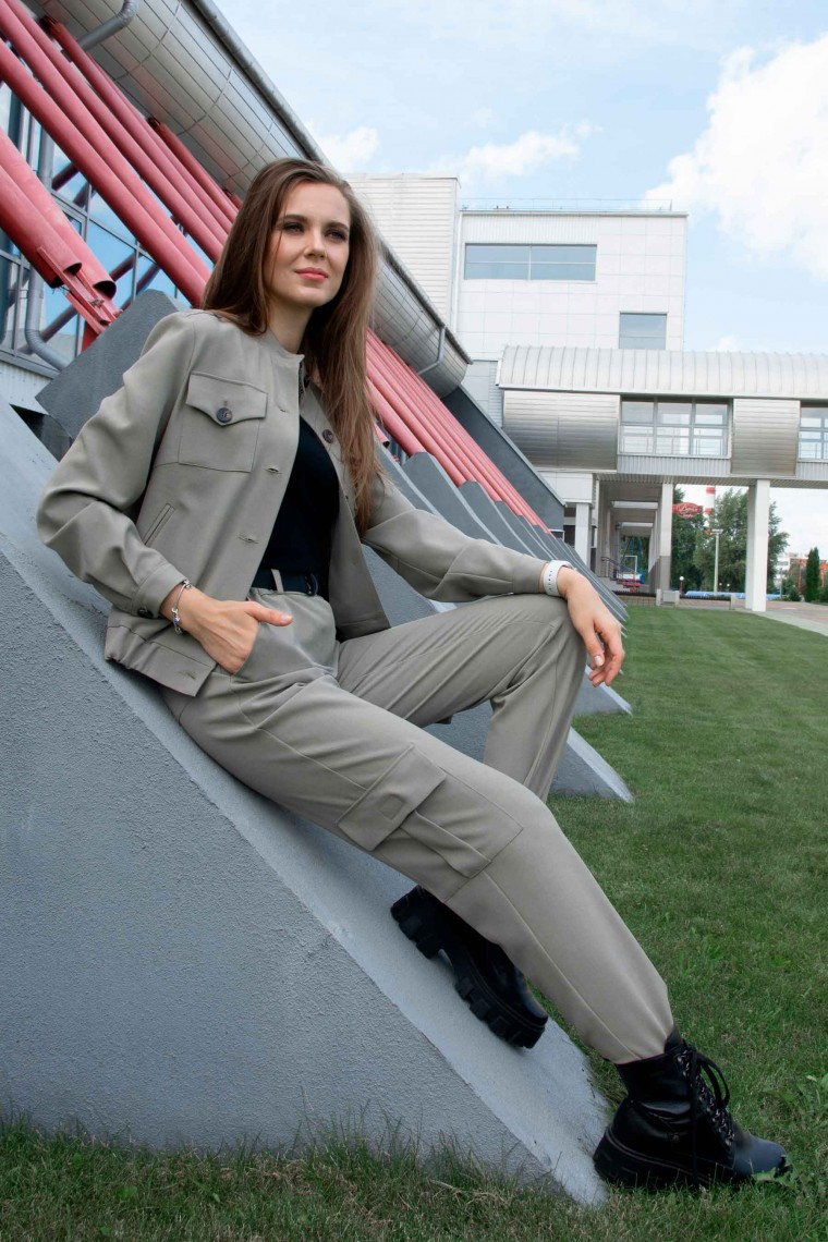 Костюм брючный 1299 (куртка и брюки)